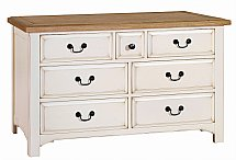 Vale Furnishers - Bedrooms - Chateaux Three and Four Drawer Chest