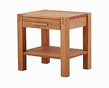 Vale Furnishers - Vale Oak Nightstand