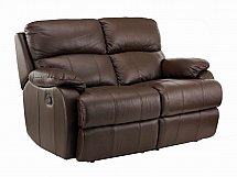 Vale Furnishers - Sofas - Jake Two Seat Leather Sofa - Manual Recliner