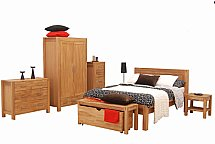 Vale Furnishers - Vale Oak Bedroom Range