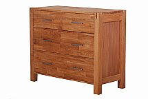 Vale Furnishers - Vale Oak 2 and 2 Chest
