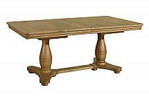 Vale Furnishers - Dining - Rosina Pedestal Extending Table
