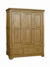Vale Furnishers - Bedrooms - Rosina Triple Wardrobe