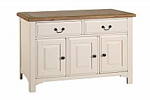 Vale Furnishers - Dining - Chateaux Three Door Sideboard