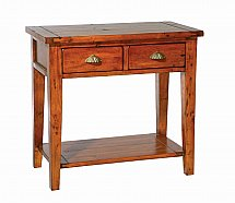 Vale Furnishers - Somerset Two Drawer Console Table