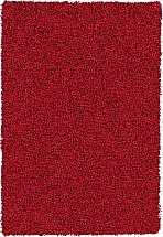 Mastercraft Rugs Shaggy Rug - Red