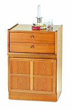 Nathan - Teak Collection Classic Two Drawer Storage Unit