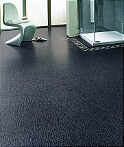 Karndean Michelangelo Italian Mosaic - Umbrian Nero MX92 with Cube Borde