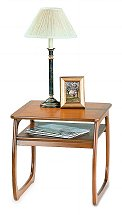 Nathan - Teak Collection Classic Burlington Lamp Table