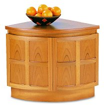 Nathan - Teak Collection Classic Low External Corner Unit