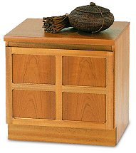 Nathan - Teak Collection Classic Single Low Storage Unit