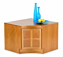 Nathan - Teak Collection Classic Internal Corner Storage Unit