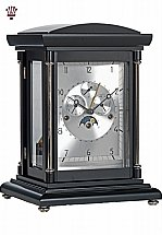 BilliB - Epic Black Chrome Mantel Clock