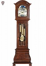 BilliB - Havana Grandfather Clock In Walnut Finish
