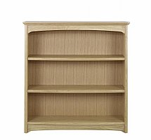 2851/Nathan-Shades-Oak-Mid-Double-Bookcase