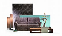 G Plan Upholstery Washington Fabric Sofa