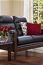 Cintique Lydia Leather Sofa