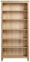 Vale Furnishers - Truro Five Shelf Bookcase
