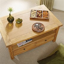 Vale Furnishers - Bordeaux Coffee Table
