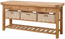 Vale Furnishers - Bordeaux Triple Basket Table