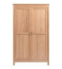 Vale Furnishers - Truro Double Wardrobe