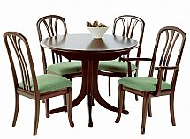 Vale Furnishers - Molesey Circular Dining Table