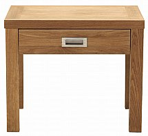 Vale Furnishers - Juno Lamp Table with Drawer