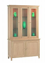 Vale Furnishers - Cirrus Tall Display Cabinet