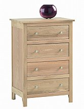 Vale Furnishers - Cirrus Four Drawer Chest