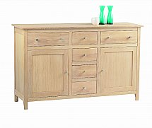 Vale Furnishers - Cirrus Six Drawer Sideboard