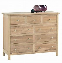 Vale Furnishers - Cirrus Three and Six Drawer Chest