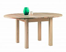 Vale Furnishers - Cirrus Round Extending Dining Table
