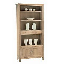 Vale Furnishers - Cirrus Large Bookcase
