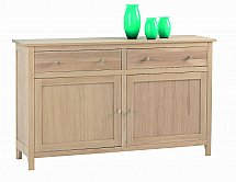 Vale Furnishers - Cirrus Large Two Drawer Sideboard