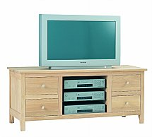 Vale Furnishers - Cirrus Large TV Cabinet