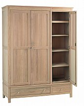Vale Furnishers - Bedrooms - Cirrus Triple Wardrobe