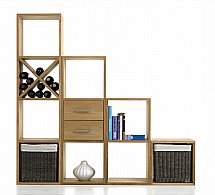 Vale Furnishers - Vale Oak Modular Storage Units