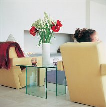 Vale Furnishers - Glass Occasional Table