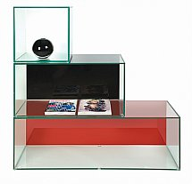 Vale Furnishers - Glass Stackable Units