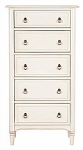 Vale Furnishers - Sussex Five Drawer Tall Chest