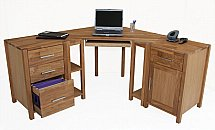 Vale Furnishers - Vale Oak Office Combination