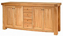 Vale Furnishers - Bordeaux Three Section Sideboard
