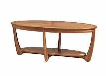 Nathan - Teak Collection Shades Sunburst Top Coffee Table