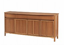 Nathan - Teak Collection Shades Four Door Sideboard