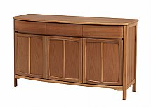 Nathan - Teak Collection Shades Three Door Sideboard