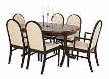 Vale Furnishers - Molesey Oval Dining Table