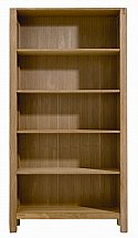 Vale Furnishers - Vale Oak Bookcase