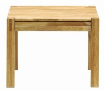 Vale Furnishers - Vale Oak Lamp Table