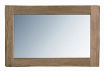 Vale Furnishers - Vale Oak Mirror