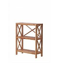 Vale Furnishers - Vale Oak Three Shelf Unit